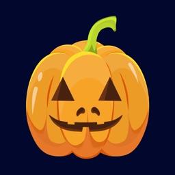 Happy Halloween Spooked Emoji