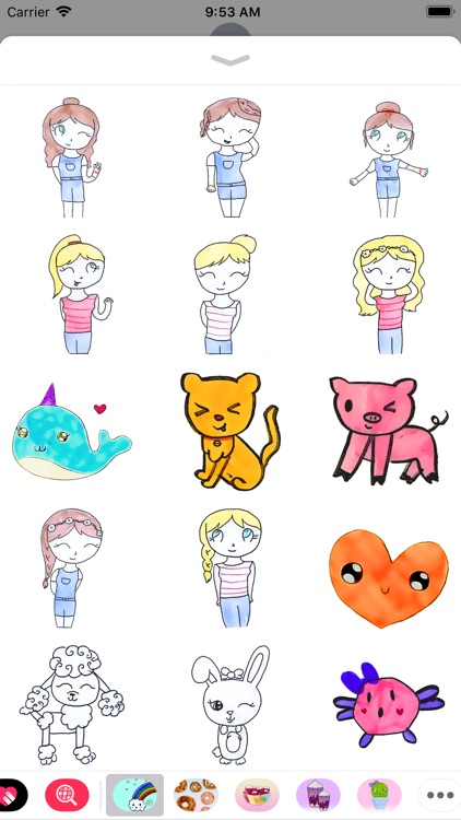 Kawaii Pets & Friends Stickers screenshot-3