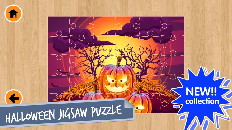 Halloween Jigsaw Puzzles Game!