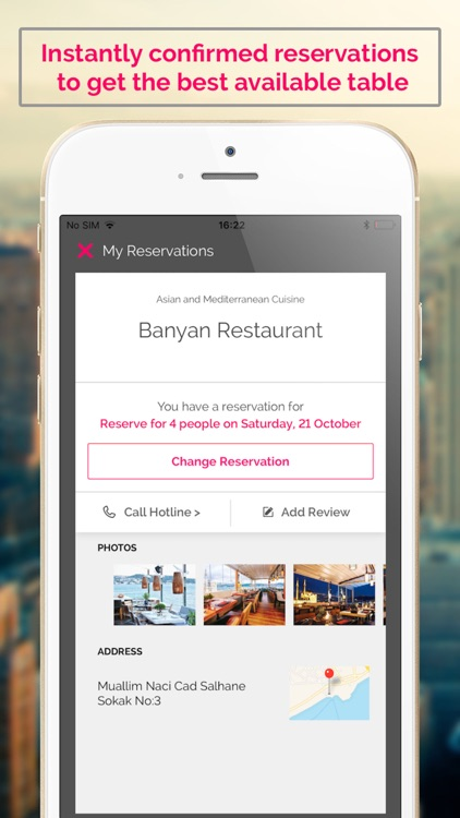 Reztoran: Restaurant Bookings screenshot-3