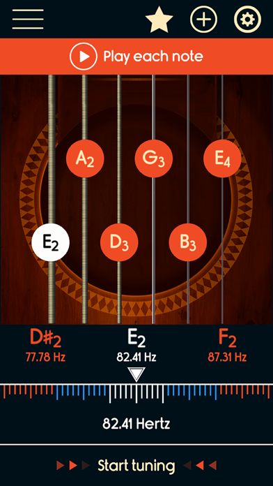 Guitar Tuner Master screenshot two