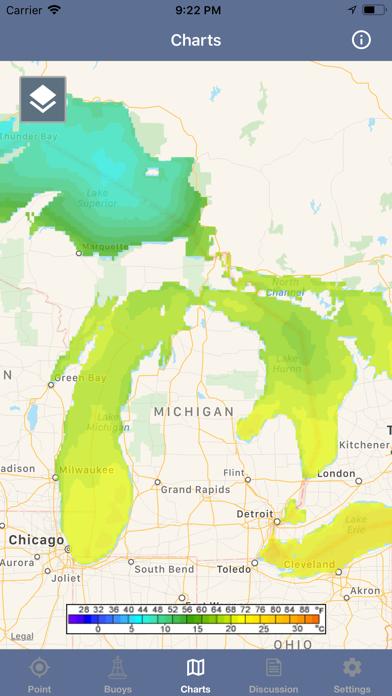 Great Lakes Boating Weather screenshot 4