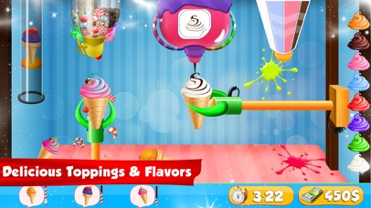 Ice Cream Cone Cupcake Factory screenshot one