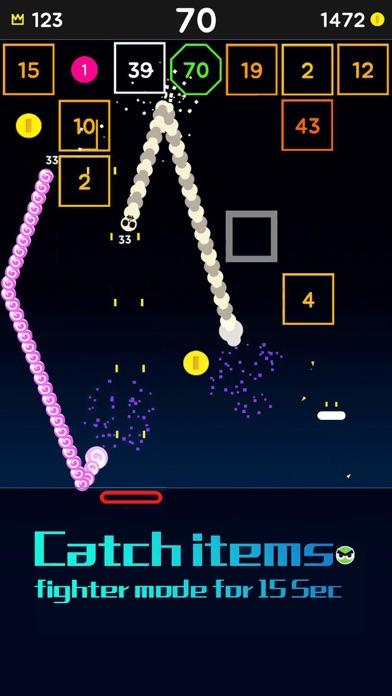 Snake Bricks-Bounce Balls screenshot 7
