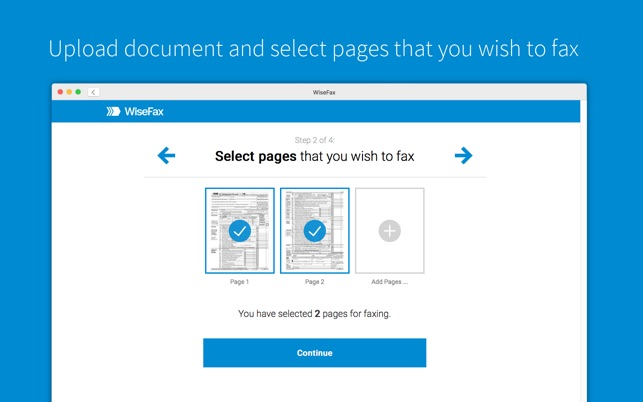 send fax with wisefax をmac app storeで