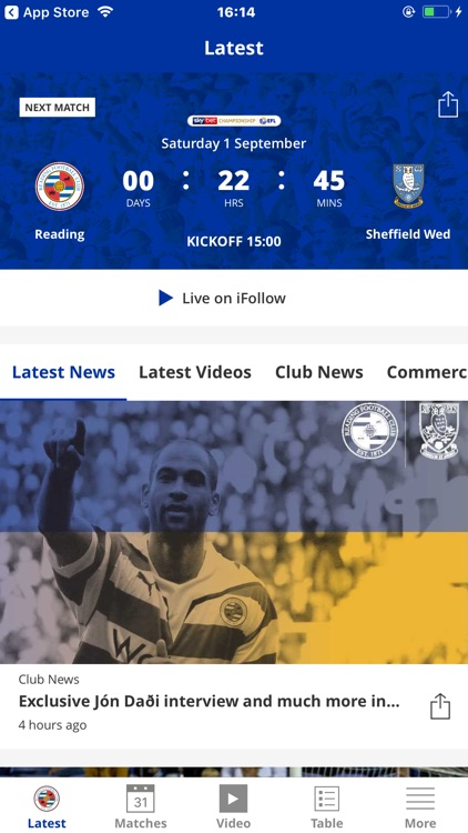 Reading Official App