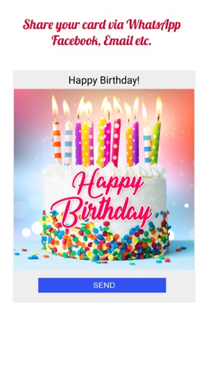 Birthday Cards App On The Store