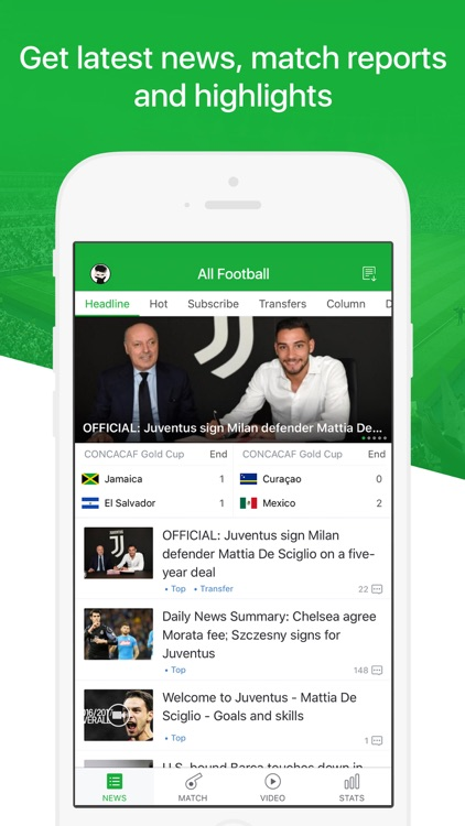 All Football - Soccer News, Live Score, Transfers screenshot-0