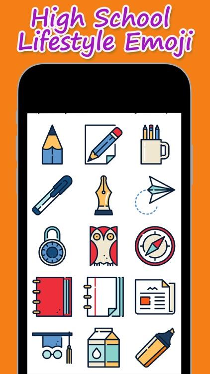 High School Lifestyle Emoji