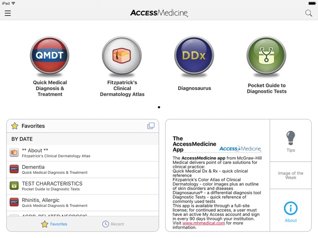 AccessMedicine on the App Store
