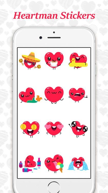 Animated Heartman Emojis