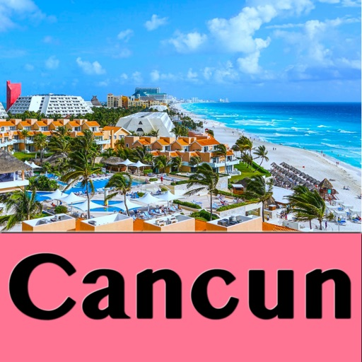 Cancun Mexico – Travel Map by Shine George