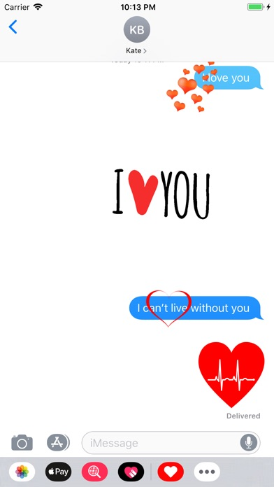 Love Stickers ملصقات الحب screenshot 2