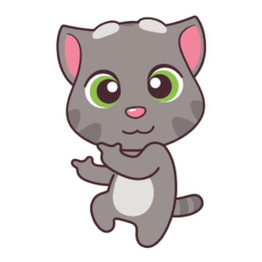 baby cat name tommy stickers