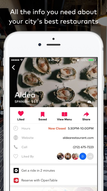 DINE by Tasting Table™ screenshot-0