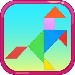 Tangram Puzzles Game
