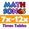 Math Songs: Times Tables 7x - 12x HD