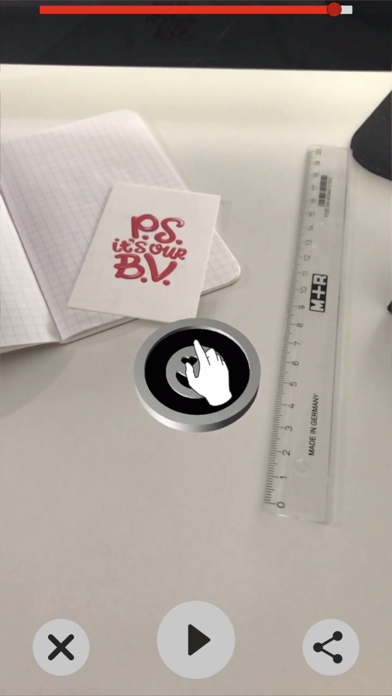 Coin Flip AR screenshot 2