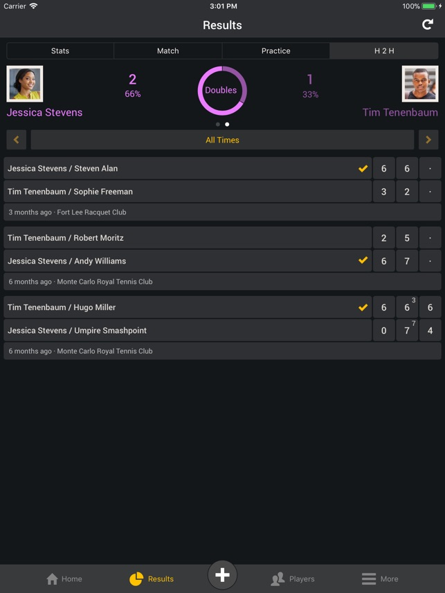 smashpoint tennis tracker on the app store