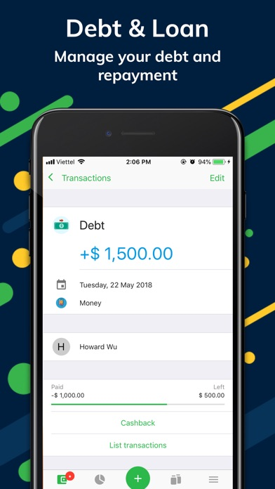Money Lover +: Expens... screenshot1