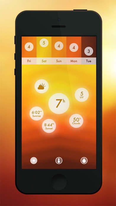 Screenshot #3 for Haze ~ Weather Forecasts