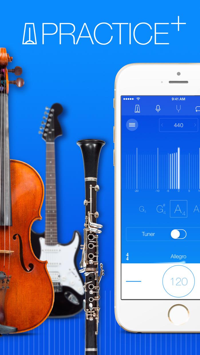 Practice+ Tuner & Metronome Screenshot