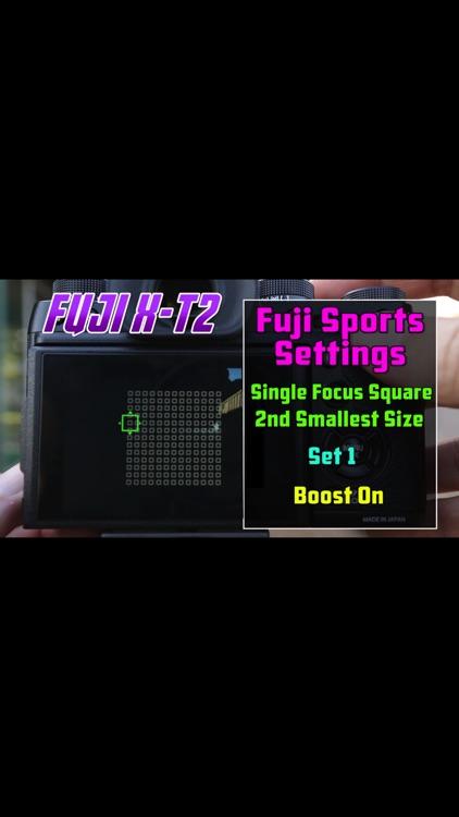Videos Training For Fujifilm X-T2 screenshot-3
