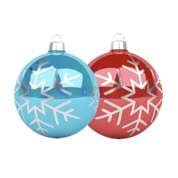 Christmas Ornaments Stickers