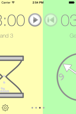 The Timers App - náhled