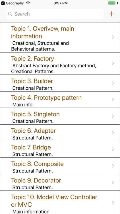 Design Patterns Interview