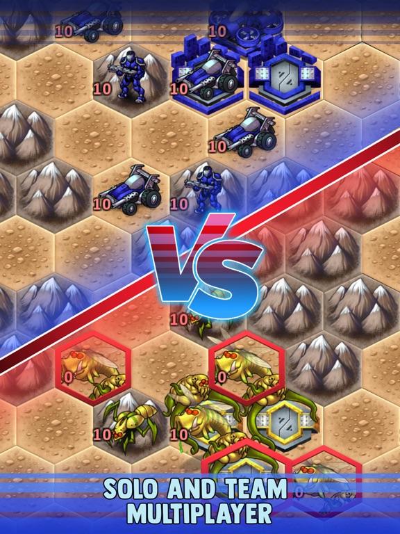 Игра UniWar: Пошаговая стратегия