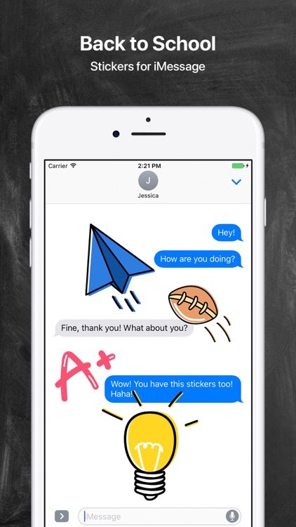 Back to School - Stickers for iMessage