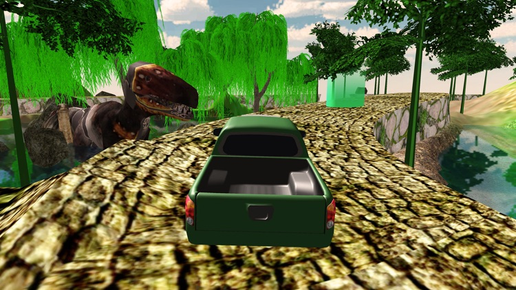 Offroad Jeep drive dino park screenshot-4