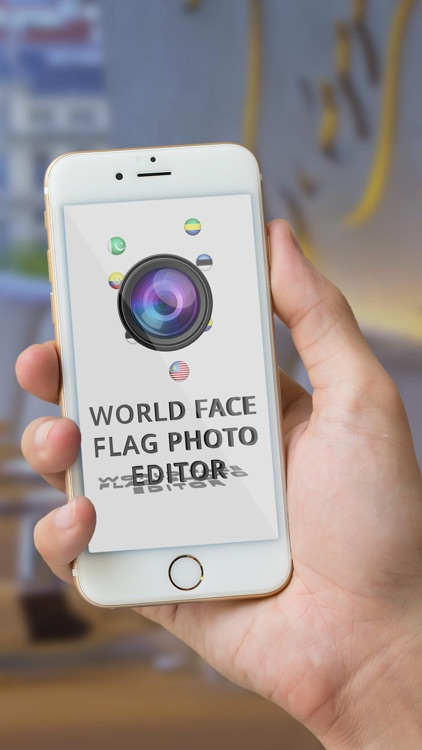 World Face Flag Photo Editor