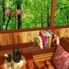 木漏れ日落ちる山小屋からの脱出 - iPadアプリ