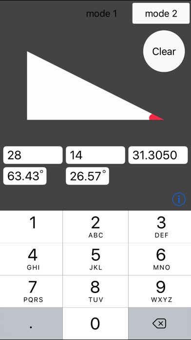 角度と長さを自動計算 screenshot1