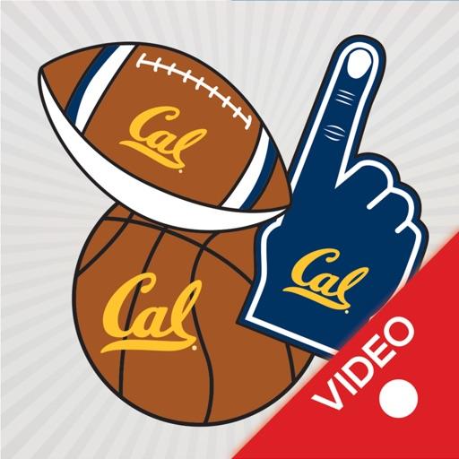 California Golden Bears Animated Selfie Stickers