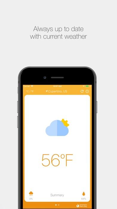 Cloudy - Weather Window screenshot