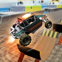 MMX Car Stunts - Hill Off-Road Racing Games