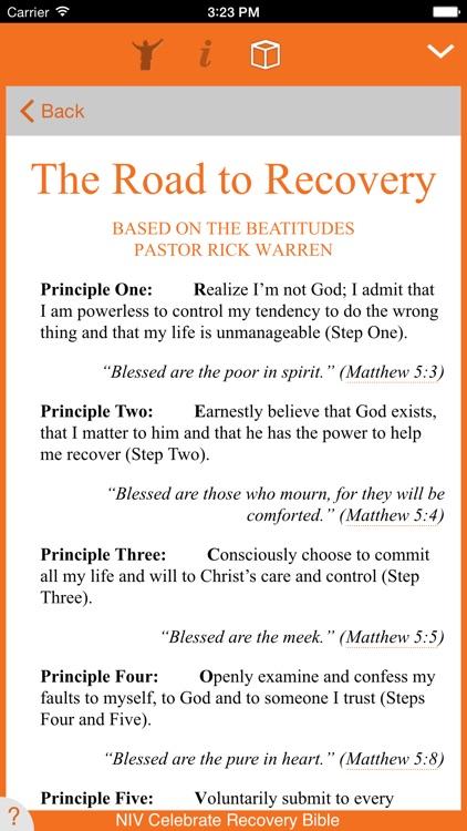 Celebrate Recovery Bible screenshot-3