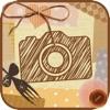 Caramera -雑貨系写真加工アプリ- 無料アイコン