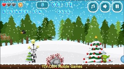 Christmas Gravity Runner screenshot