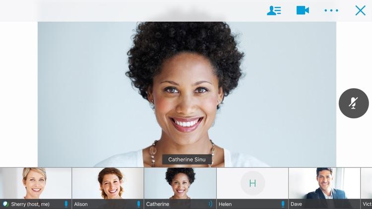 Cisco WebEx Meetings screenshot-0