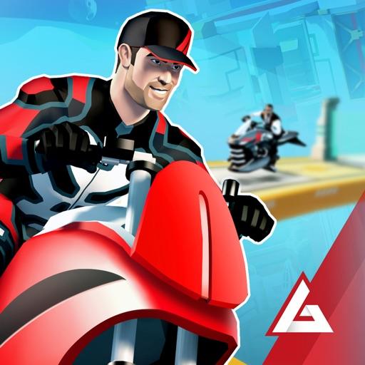 Gravity Rider мотокросс-байкер
