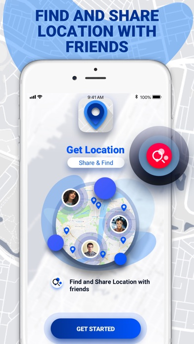 Get Location - Share and Find Screenshot
