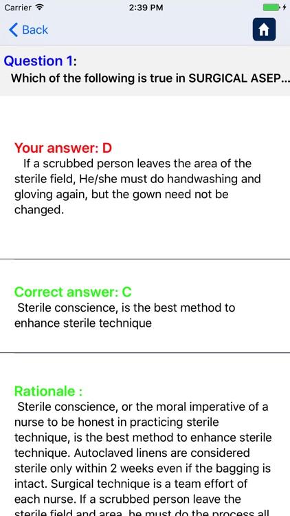 Fundamentals of Nursing Pro screenshot-4