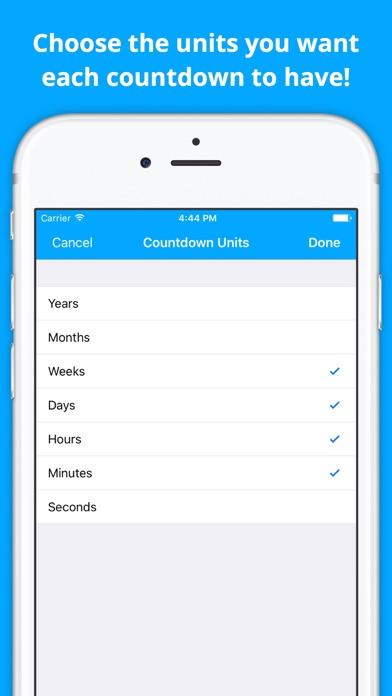 Countdown Widget: Track Events