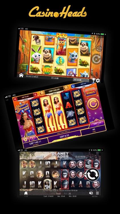 CasinoHeads Real Money Casino screenshot-3