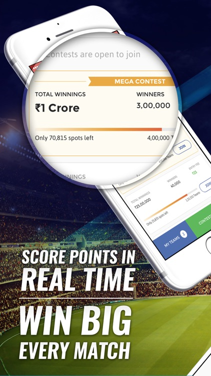 Dream11 Fantasy Sports: Cricket, Kabaddi, Football screenshot-3