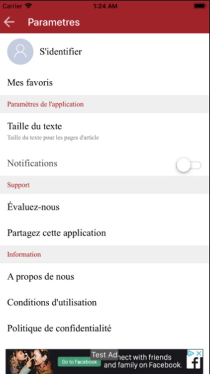 Burkina 24 app screenshot-6